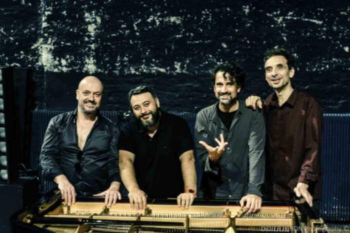 Baptiste Trotignon, Eric Legnini, Pierre de Bethmann, Bojan Z « PianoForte » – Parc du Château Tranchère Cenon