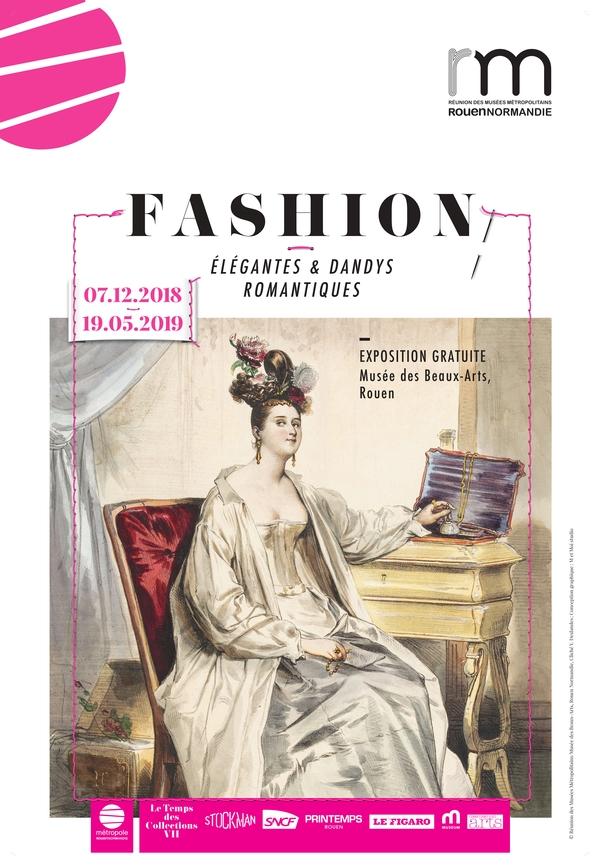Nuit des musées 2019 -Exposition : élégantes et dandys romantiques / Conversation en salle
