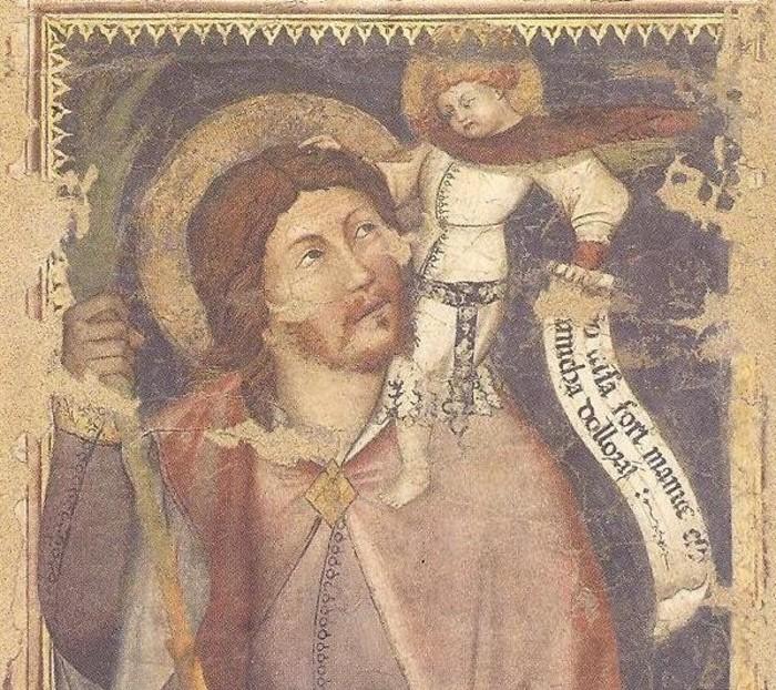 Journées du patrimoine 2020 - Visite libre du hall et de la fresque « San Francesco che riceve le stigmate e San Cristoforo », un chef d'oeuvre du XIV siècle.