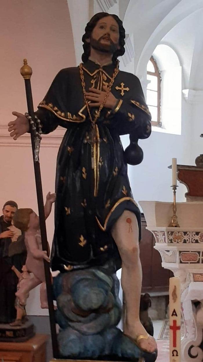 Journées du patrimoine 2020 - San Roccu, Saint patron d'Occiglioni