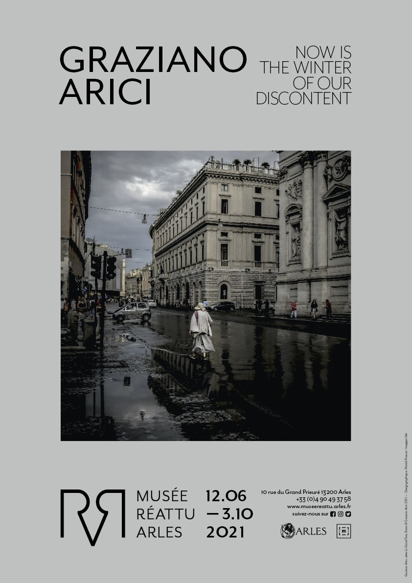 Graziano Arici est un photographe italien installé à Arles depuis 2012.  Sa production personnelle est exposée, pour la première fois, au musée Réattu.