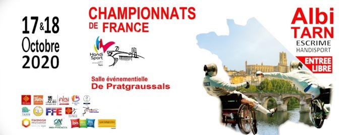 Le cercle d'escrime d'Albi organise les 17 et 18 octobre prochain les championnats de France handisport. Une centaine de compétiteurs viendront s'affronter aux 3 armes, le fleuret, l'épée et le sabre.