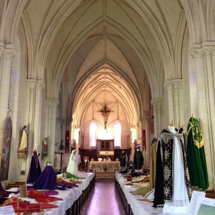 Journées du patrimoine 2019 - Grande exposition annuelle de vêtements liturgiques et accessoires