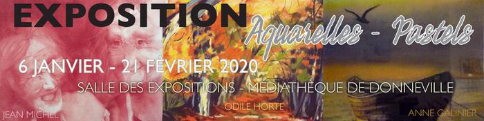 Exposition Aquarelles & Pastels