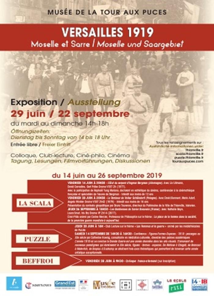 Journées du patrimoine 2019 - Versailles 1919 : Moselle et Sarre