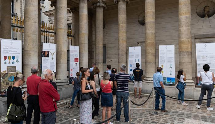 Journées du patrimoine 2020 - Panorama de la grande chancellerie de la Légion d'honneur