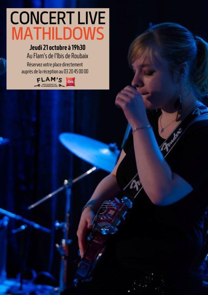 Concert Live Mathildows au Flam's Roubaix