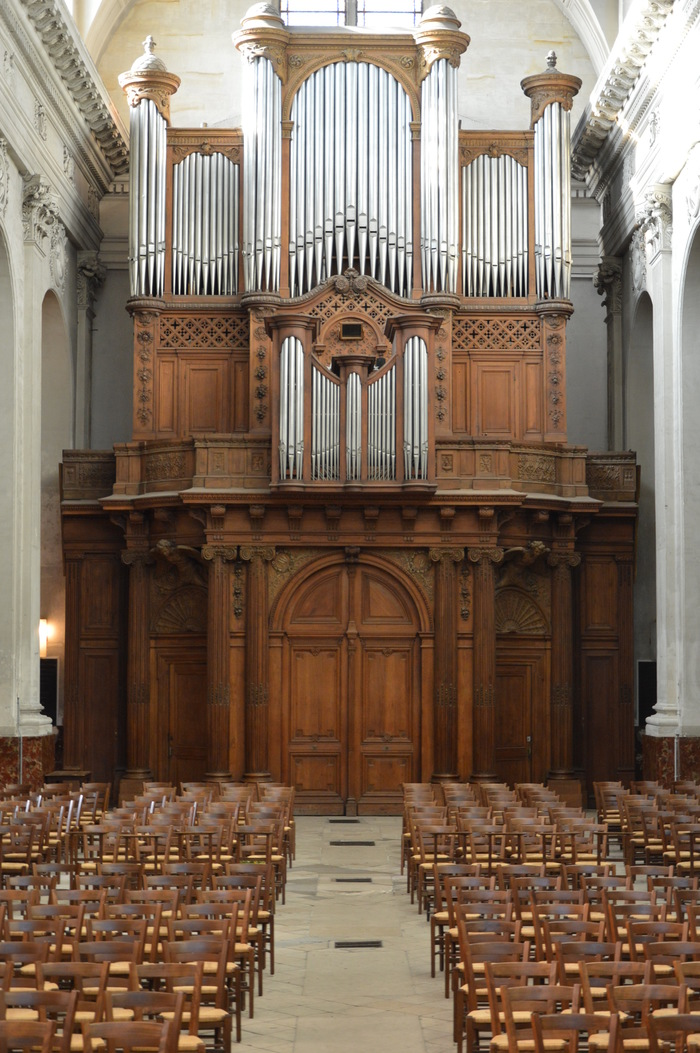 Journées du patrimoine 2019 - Visite commentée des orgues des Blancs-Manteaux