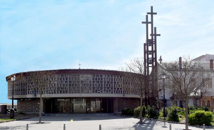 Journées du patrimoine 2020 - L'église du Sacré Coeur et les vitraux d' Arcabas
