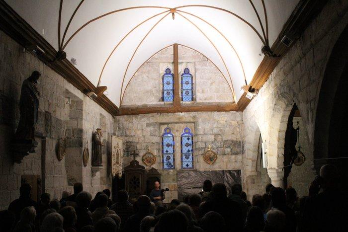 Journées du patrimoine 2019 - Levez les yeux ! A la découverte de l'église de St Aubin sur Mer