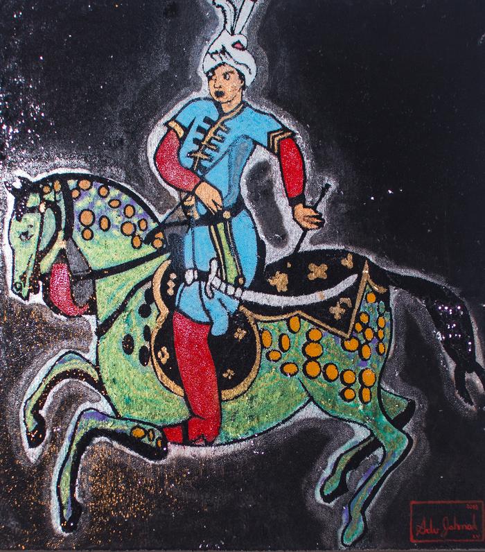 Journées du patrimoine 2019 - Exposition des œuvres d'Adu Jahmal