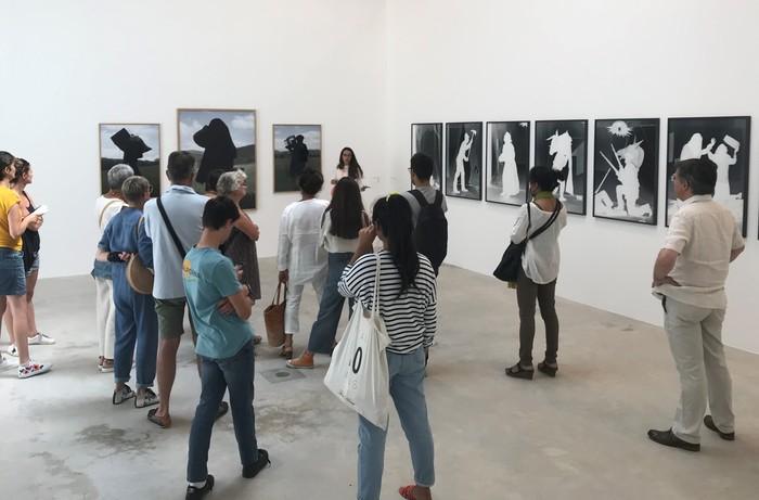 Visite partagée de l'exposition