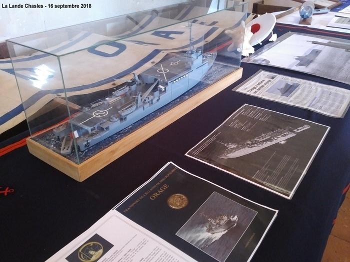 Journées du patrimoine 2019 - Patrimoine maritime de l'amicale des anciens marins du TCD ORAGE