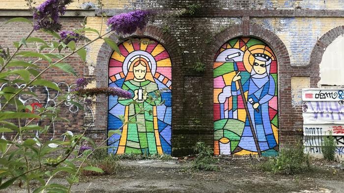 Journées du patrimoine 2020 - Annulé | Graff à la Tossée - Fête des paquets bleus #2 GEANT.E.S