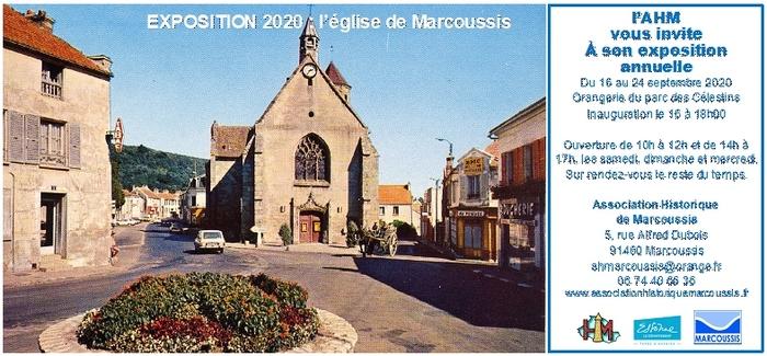 Journées du patrimoine 2020 - ANNULÉ - Histoire de l'église de Marcoussis