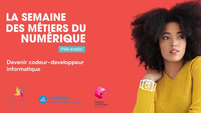 Devenir codeur-développeur informatique - La Semaine des Métiers du Numérique
