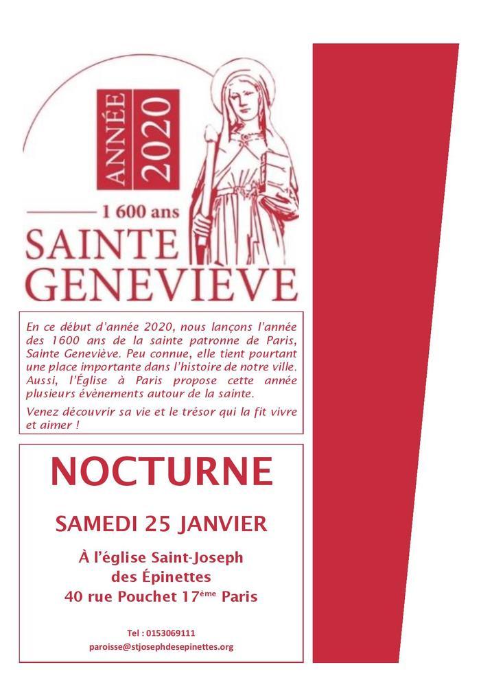 Nocturne sainte Geneviève