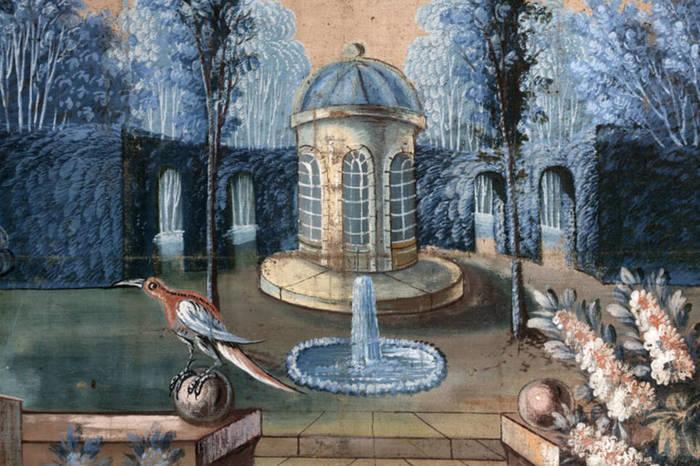 Journées du patrimoine 2020 - Visite des toiles peintes du presbytère (XVIIIe siècle)