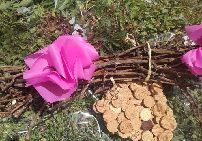 Journées du patrimoine 2019 - Atelier enfants : création de guirlande de fleurs et fagots à partir de sarments de vigne