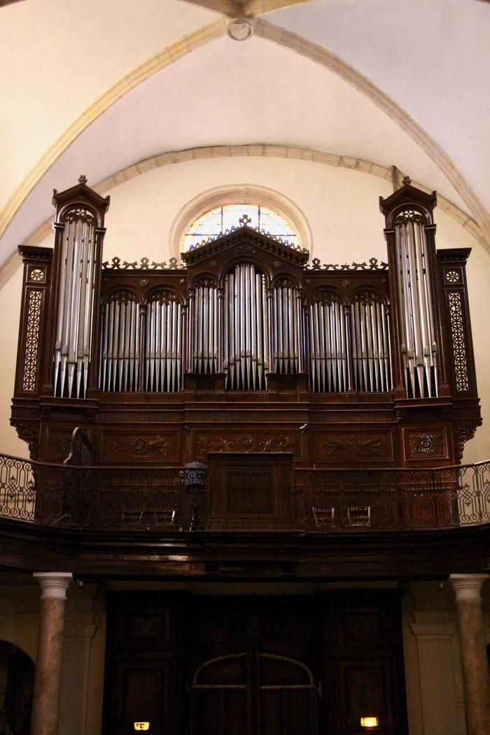 Journées du patrimoine 2019 - Visite de l'orgue