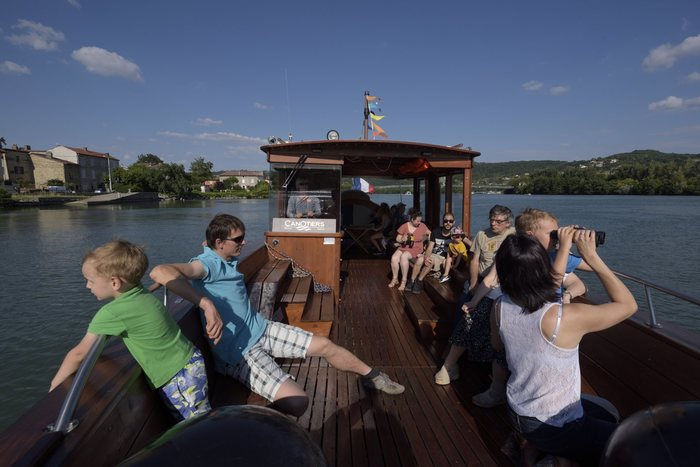 Journées du patrimoine 2019 - Virées en bateau traditionnel en bois sur le Rhône