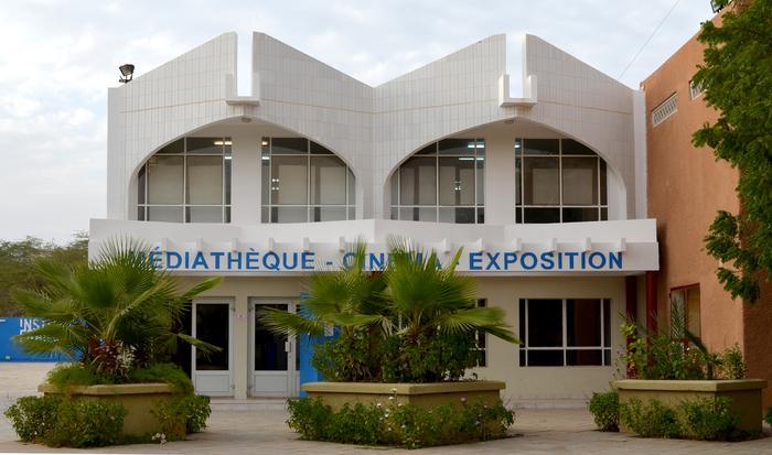 Exposition sur les 10 mots de 6 écoles de Nouakchott à l'Insititut français de Mauritanie
