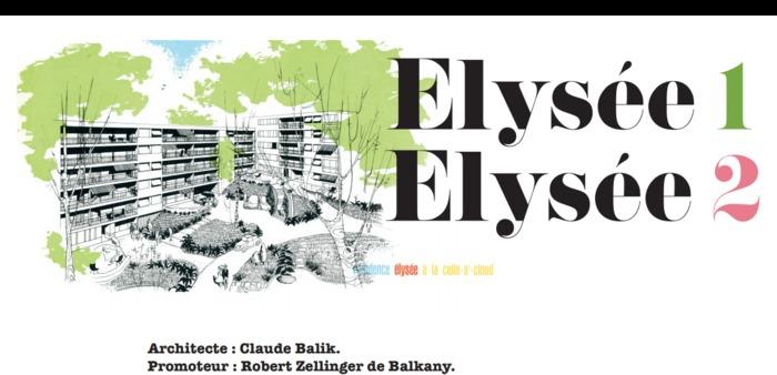Journées du patrimoine 2020 - Visite guidée des résidences Elysée 1 et 2