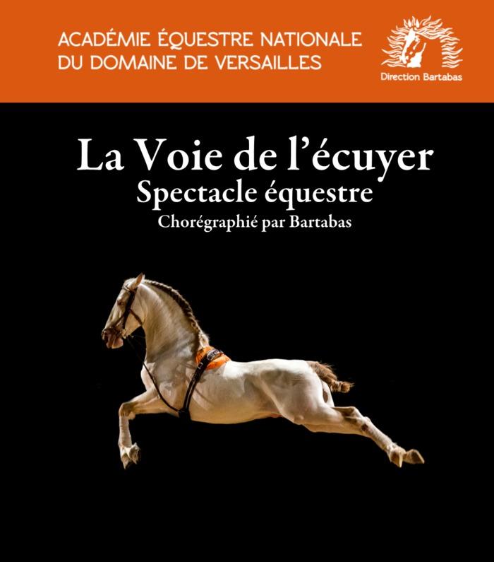 Journées du patrimoine 2019 - Spectacle de l'Académie équestre de Versailles :
