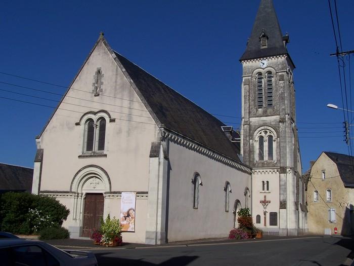Journées du patrimoine 2019 - Visite libre de l'Eglise Saint-Martin à Daumeray