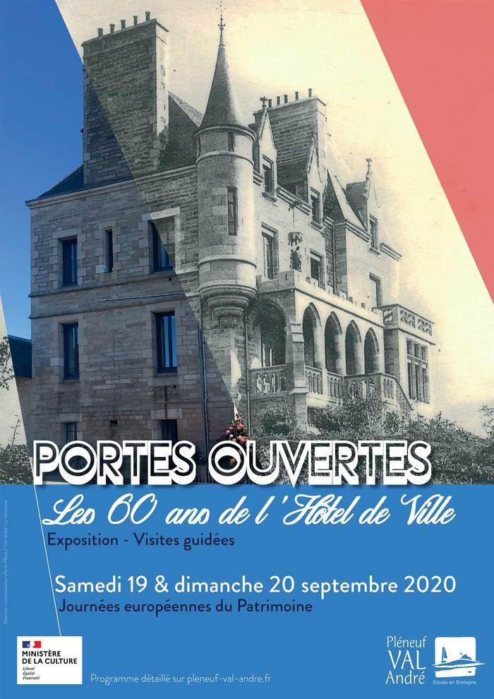 Journées du patrimoine 2020 - Portes ouvertes de l'Hôtel de ville pour ses 60 ans - Manoir de Rosmeur