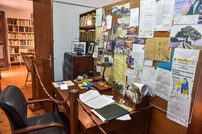 Journées du patrimoine 2020 - FdF / Visite de la Maison d'Aimé Césaire