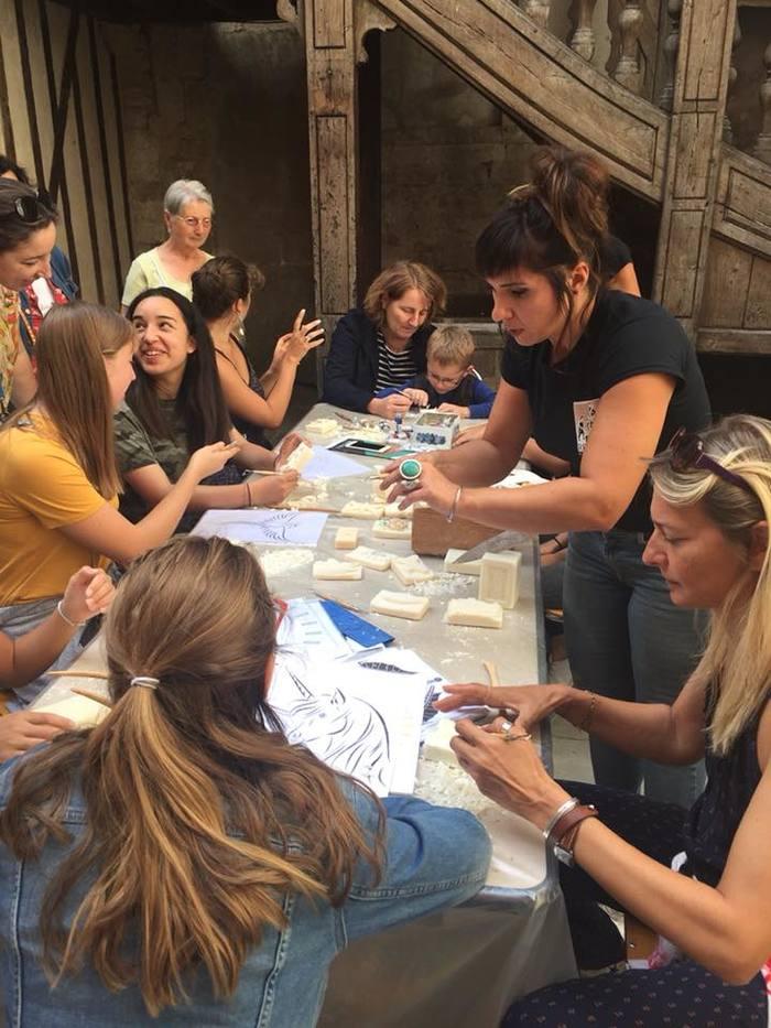 Journées du patrimoine 2020 - Rencontre avec des acteurs du patrimoine et atelier d'initiation à la sculpture