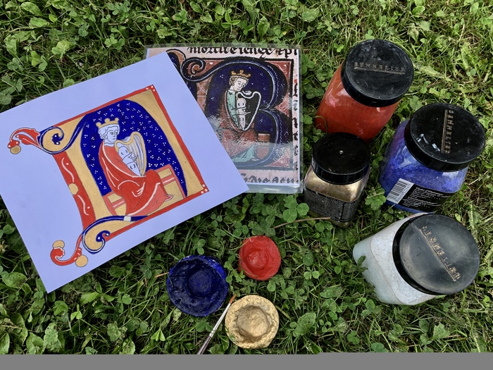 Journées du patrimoine 2019 - Atelier enluminure