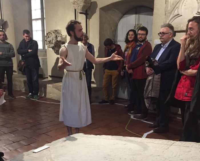 Nuit des musées 2019 -Les petites saynètes du Théâtre Ecole d'Aquitaine