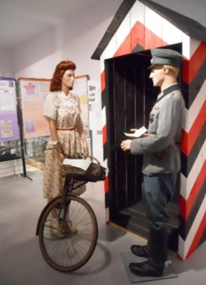 Journées du patrimoine 2019 - Balade dans la Vienne de la Seconde Guerre mondiale en suivant la ligne de démarcation qui traversait la commune