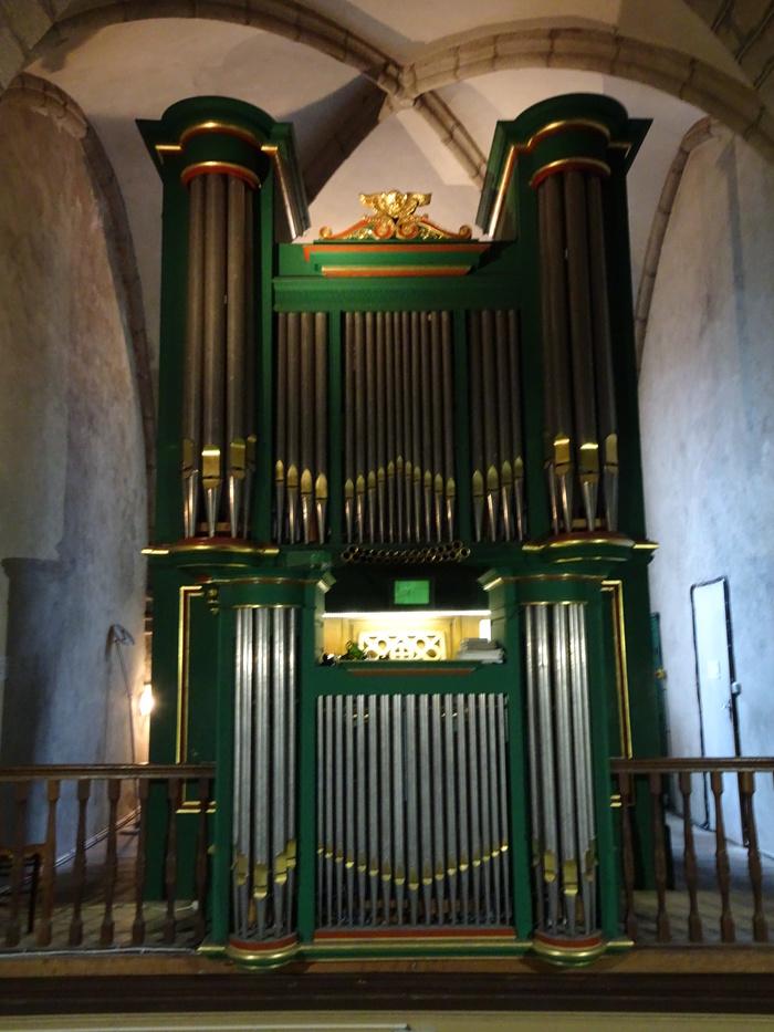 Journées du patrimoine 2019 - Visite commentée de l'orgue de l'église de Guéret