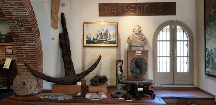 Le musée Lapérouse n'est pas seulement l'histoire d'un homme mais une grande page de l'histoire maritime de la fin du XVIIIe siècle et une invitation à participer aux mystères qui subsistent encore.