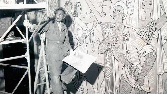 Visite guidée : la salle des Mariages de Jean Cocteau