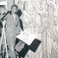 Menton - Visite guidée : la salle des Mariages de Jean Cocteau