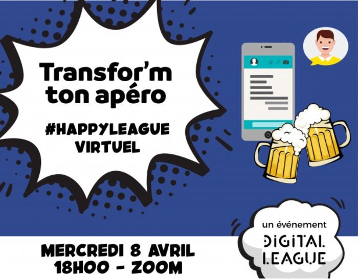 [En ligne] 1er Happy League virtuel : transform' ton Apér