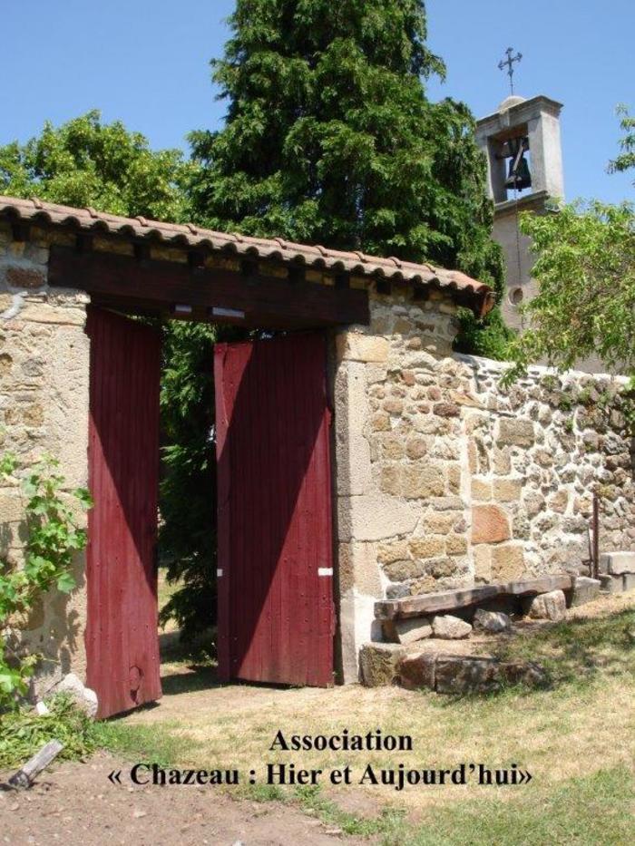 Journées du patrimoine 2020 - Visite guidée de Chazeau [ANNULATION]