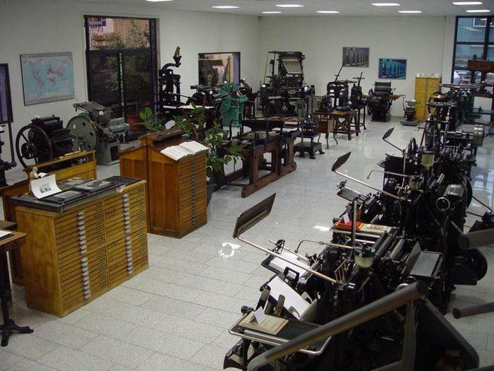 Journées du patrimoine 2019 - Collection de machines d'imprimerie d'hier et d'aujourd'hui