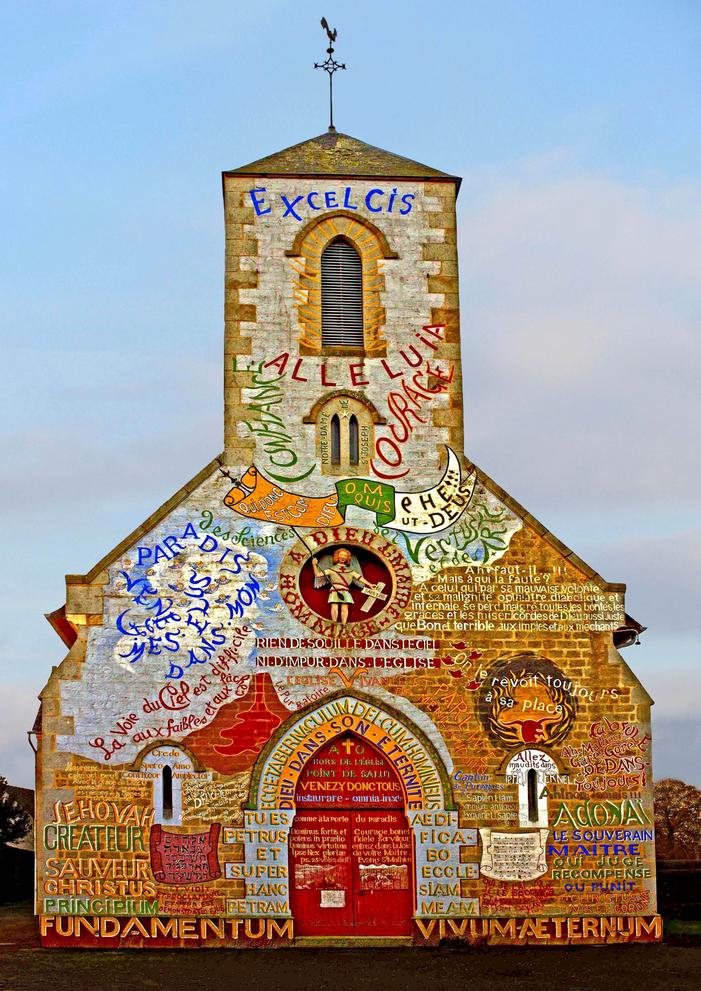Journées du patrimoine 2020 - Visite libre de l'église vivante et parlante de Ménil-Gondouin