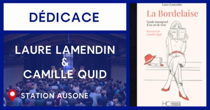 Dédicace de Laure Lamendin et Camille Quid