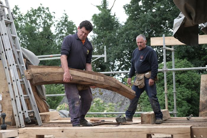Journées du patrimoine 2020 - Visite exceptionnelle du plus ancien manoir de Bretagne ! Découvrez les coulisses de la restauration du Manoir du Boberil.