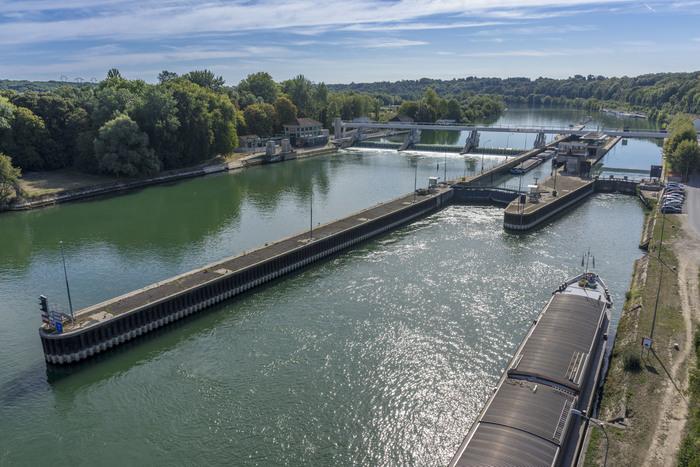 Journées du patrimoine 2019 - Les écluses et le barrage de Vives-Eaux vous ouvrent ses portes