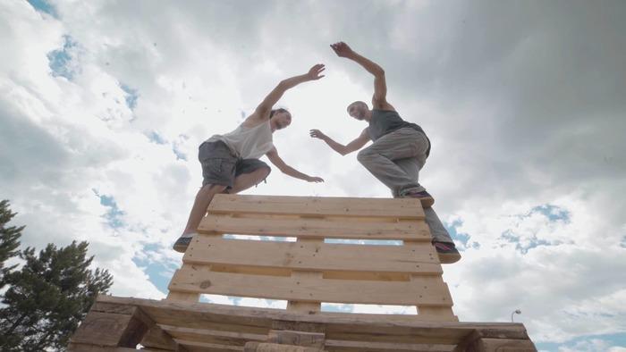 Journées du patrimoine 2020 - Spectacle d'acrobatie « Palette(s) » de la Cie Moost