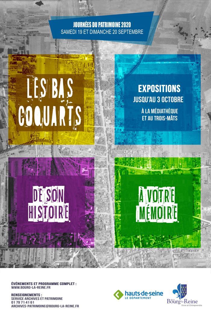 Journées du patrimoine 2020 - Exposition: Les Bas-Coquarts, une Histoire