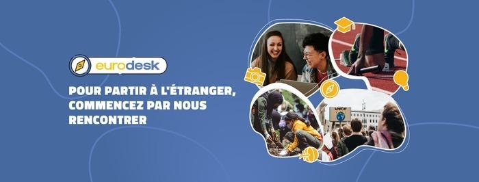 Le prochain séminaire régional Eurodesk Nouvelle-Aquitaine aura lieu le 23 septembre 2021 en visioconférence.