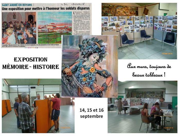 Journées du patrimoine 2019 - Mémoire et Histoire du Village de Saint-André-en-Royans